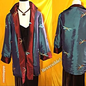 Reversible Dragonfly Jacket